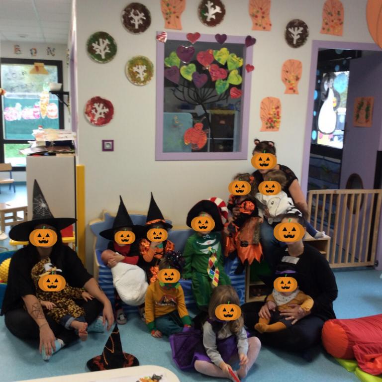 Halloween chez les Titounets